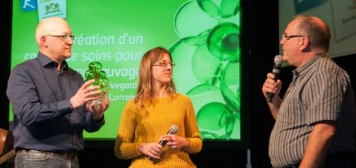 Prix Brasseur de Nature 2014 : de gauche à droite
