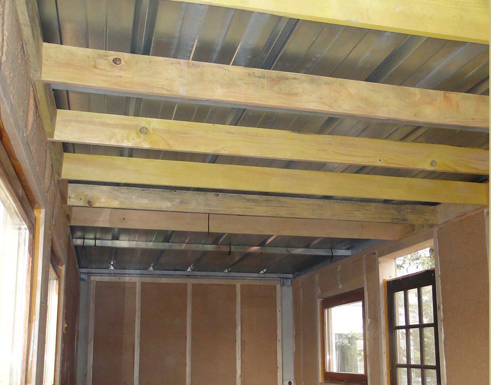 nouveau local sna tape 6 isolation du plafond et des murs sna. Black Bedroom Furniture Sets. Home Design Ideas